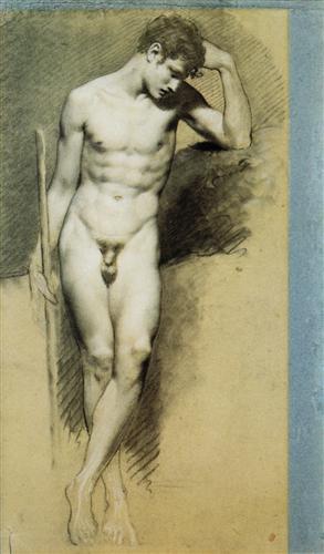 Рисунки мужчин голых