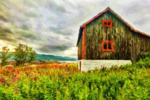 Старый Норвежский дом
